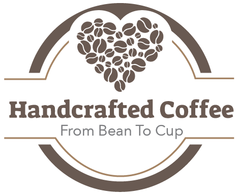 Handcrafted Coffee Round Logo