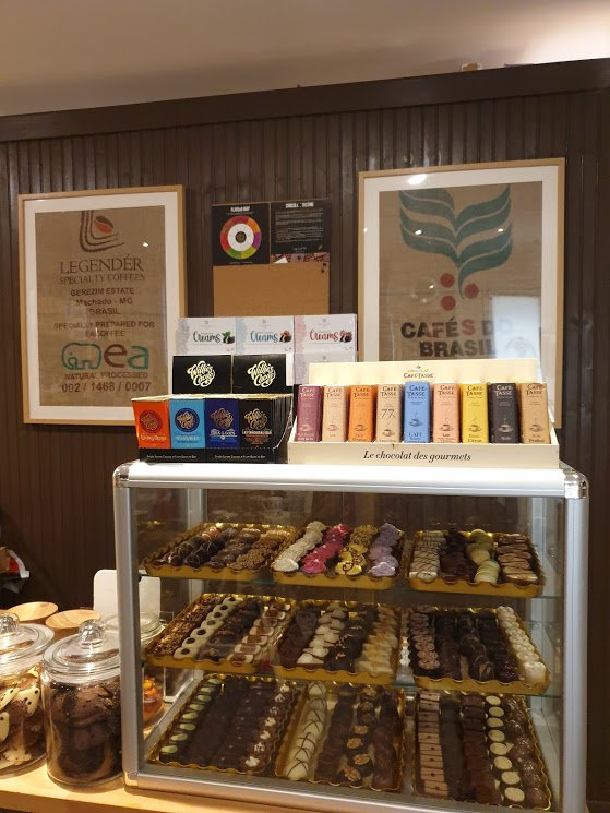 Chocolates on Sale in Store
